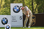 Paul Broadhurst teeing off from the 3rd.during round three of the BMW PGA championship 2010 at Wentworth golf club, Surrey England..Picture Fran Caffrey/Newsfile.ie