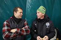 Toronto, Ontario - Thursday December 07, 2017: Seattle Sounders FC held a training session and media mixed zone at Kia Training Ground two days before playing in MLS Cup 2017.