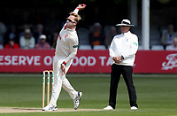 Simon Harmer of Essex in bowling action during Essex CCC vs Nottinghamshire CCC, Specsavers County Championship Division 1 Cricket at The Cloudfm County Ground on 16th May 2019