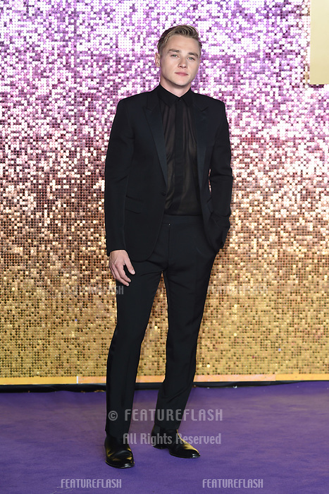 LONDON, UK. October 23, 2018: Ben Hardy at the world premiere of &quot;Bohemian Rhapsody&quot; at Wembley Arena, London.<br /> Picture: Steve Vas/Featureflash
