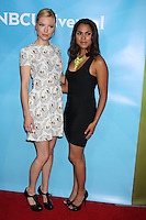 BEVERLY HILLS, CA - JULY 24: Lauren German and Monica Raymund at the 2012 NBC Universal TCA summer press tour at The Beverly Hilton Hotel on July 24, 2012 in Beverly Hills, California. Credit: mpi25/MediaPunch Inc. /NortePhoto.com<br />