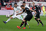 17.03.2019, BayArena, Leverkusen, GER, 1. FBL, Bayer 04 Leverkusen vs. SV Werder Bremen,<br />  <br /> DFL regulations prohibit any use of photographs as image sequences and/or quasi-video<br /> <br /> im Bild / picture shows: <br /> Aleksandar Dragovic (Leverkusen #6), im Zweikampf gegen  Nuri Sahin (Werder Bremen #17), <br /> <br /> Foto © nordphoto / Meuter