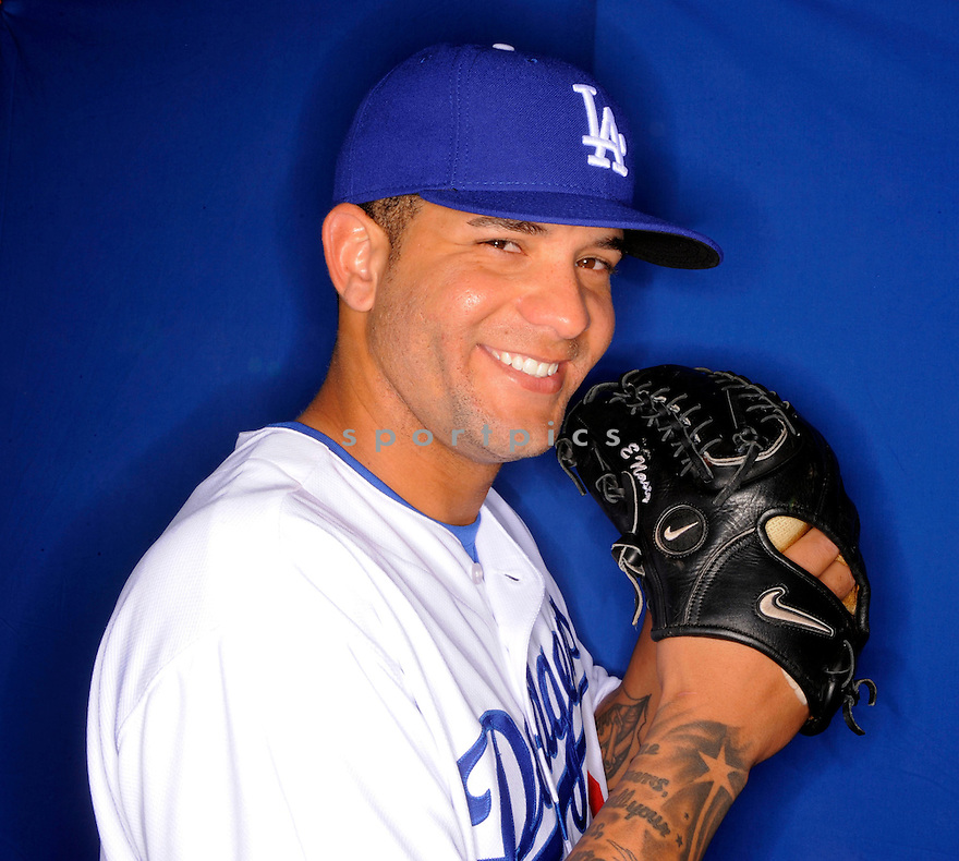 ERICK THREETS, of the Los Angeles Dodgers, during photo day of spring training and the Dodger's training camp in Glendale, Arizona on February 21, 2009.