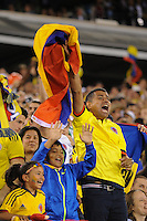 East Rutherford, NJ - Friday June 17, 2016: Fans after a Copa America Centenario quarterfinal match between Peru (PER) vs Colombia (COL) at MetLife Stadium.