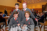 Mark Moore, Rory Leahy, Eoin McElligott, Aisling Kelly, from Dromclough NS Listowel at the Chapter 23 Credit Union Schools Quiz finals at Ballyroe Heights Hotel on Sunday