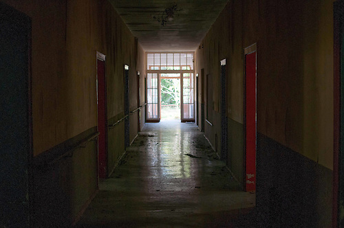 On a photo tour in an old kids care home. Just outsie of Berlin