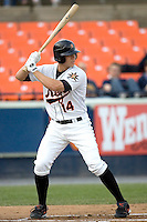 Waring, Brandon 1456.jpg. Carolina League Myrtle Beach Pelicans at the Frederick Keys at Harry Grove Stadium on May 13th 2009 in Frederick, Maryland. Photo by Andrew Woolley.