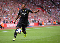 Wayne Routledge of Swansea City in action during the Premier League match between Southampton and Swansea City at the St Mary's Stadium, Southampton, England, UK. Saturday 12 August 2017