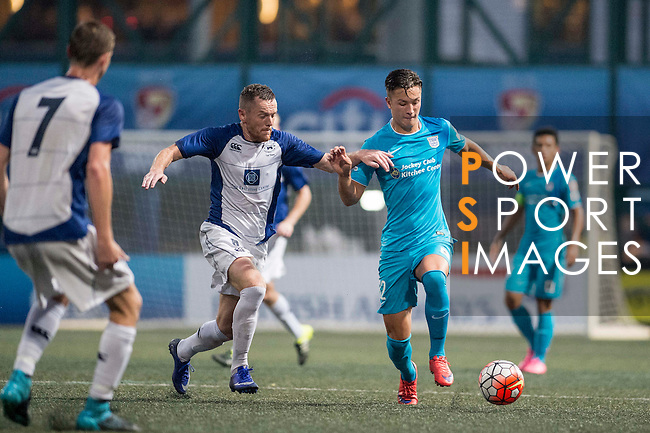 Kitchee vs Hong Kong Football Club during the Main of the HKFC Citi Soccer Sevens on 21 May 2016 in the Hong Kong Footbal Club, Hong Kong, China. Photo by Li Man Yuen / Power Sport Images