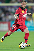 November 4th 2017, nib Stadium, Perth, Australia; A-League football, Perth Glory versus Adelaide United; Daniel Adlung from Adelaide United runs with the ball during the second half