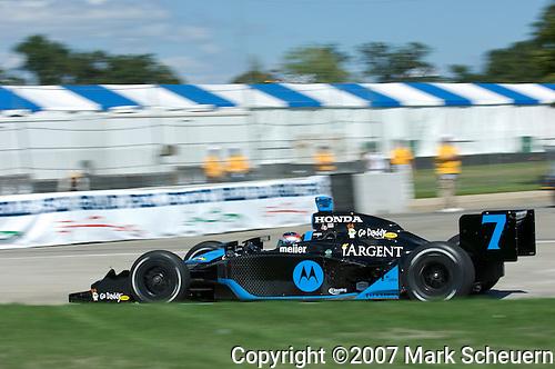 31 August 2007: Danica Patrick (USA) at the Detroit Belle Isle Grand Prix, Detroit, Michigan.