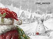 Marcello, CHRISTMAS SANTA, SNOWMAN, WEIHNACHTSMÄNNER, SCHNEEMÄNNER, PAPÁ NOEL, MUÑECOS DE NIEVE, paintings+++++,ITMCXM1229,#X#