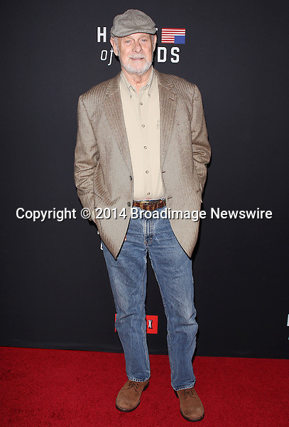 Pictured: Gerald McRaney <br /> Mandatory Credit &copy; Frederick Taylor/Broadimage<br /> &quot;House Of Cards&quot; - Season 2 Special Screening<br /> <br /> 2/13/14, Los Angeles, California, United States of America<br /> <br /> Broadimage Newswire<br /> Los Angeles 1+  (310) 301-1027<br /> New York      1+  (646) 827-9134<br /> sales@broadimage.com<br /> http://www.broadimage.com