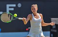 Netherlands, Rosmalen , June 10, 2015, Tennis, Topshelf Open, Autotron, Kidsday, Camila Giorgi (ITA)<br /> Photo: Tennisimages/Henk Koster