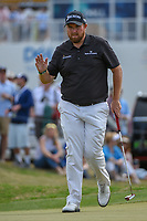 Shane Lowry (IRL) after sinking his putt on 15 during day 2 of the WGC Dell Match Play, at the Austin Country Club, Austin, Texas, USA. 3/28/2019.<br /> Picture: Golffile | Ken Murray<br /> <br /> <br /> All photo usage must carry mandatory copyright credit (© Golffile | Ken Murray)