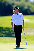 Miguel Angel Jimenez (ESP) during the second round of the Lyoness Open powered by Organic+ played at Diamond Country Club, Atzenbrugg, Austria. 8-11 June 2017.<br /> 09/06/2017.<br /> Picture: Golffile | Phil Inglis<br /> <br /> <br /> All photo usage must carry mandatory copyright credit (&copy; Golffile | Phil Inglis)