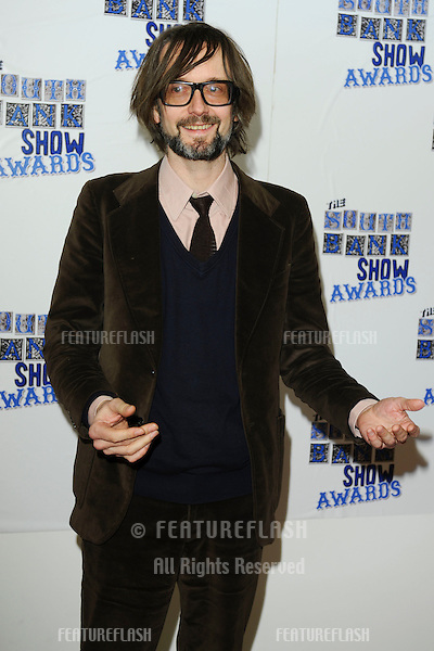 Jarvis Cocker arriving for the South Bank Show Awards 2010, the last ever, at the Dorchester Hotel.  26/01/2010  Picture by: Steve Vas / Featureflash