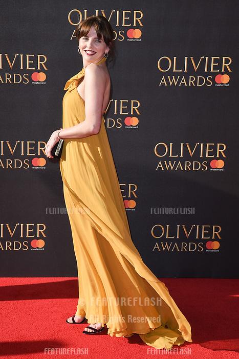 Ophelia Lovibond at The Olivier Awards 2017 at the Royal Albert Hall, London, UK. <br /> 09 April  2017<br /> Picture: Steve Vas/Featureflash/SilverHub 0208 004 5359 sales@silverhubmedia.com