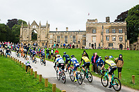 Picture by Alex Whitehead/SWpix.com - 06/09/2017 - Cycling - OVO Energy Tour of Britain - Stage 4, Mansfield to Newark-on-Trent - Newstead Abbey
