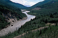 USA, Alaska, Nenana-River nahe des Denali Nationalpark