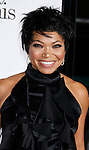 """HOLLYWOOD, CA. - October 20: Actress Tisha Campbell-Martin arrives at the Los Angeles Premiere of """"Zack And Miri Make A Porno"""" at Grauman's Chinese Theater in Hollywood, California."""