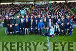 Laune Rangers Jubilee team who were honoured at half time of the Kerry County Senior Club Football Championship Final match between Dr Crokes and Dingle at Austin Stack Park in Tralee, Kerry on Sunday.
