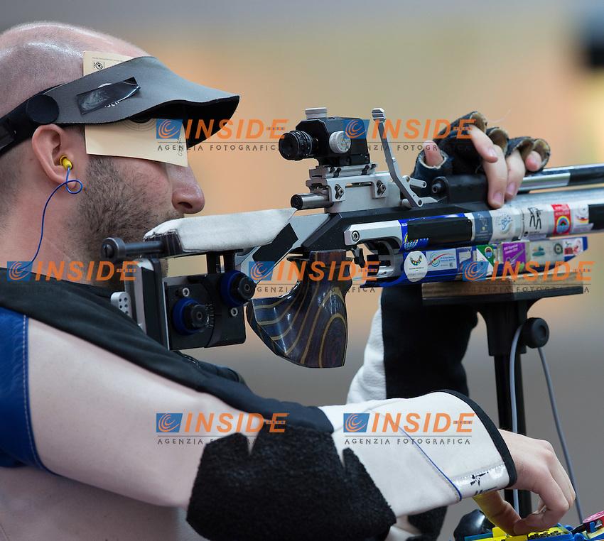 Niccolo' Campriani medaglia argento.Londra 29/07/2012 Olimpiadi Londra 2012. Tiro di Precisione. 10m Carabina.Photo  Johann Groder/EXPA/Insidefoto.ITALY ONLY..