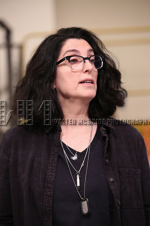 during the Rehearsal Press Preview of the New Broadway  Musical on 'SpongeBob SquarePants'  on October 11, 2017 at the Duke 42nd Street Studios in New York City.