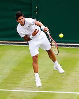21-06-11, Tennis, England, Wimbledon, Verdasco