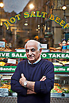 May0037409 . Daily Telegraph..Features..Restaurant Review..Gaby Elyahou, a jewish-Iraqi emigre and the proprietor of Gaby's Deli in the heart of London's West End...London January 2012.