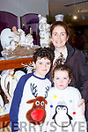 Charlie, Katie and Susan Foley at the Christmas fair in Moriarty's furniture Killorglin on Sunday