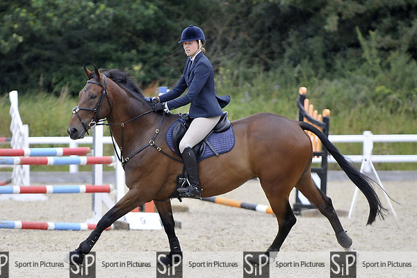 Class 10. 1.05m. Unaffiliated showjumping. Brook Farm Training Centre. Essex. 15/07/2017. MANDATORY Credit Garry Bowden/Sportinpictures - NO UNAUTHORISED USE - 07837 394578