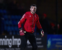 Lincoln City's Matt Gilks during the pre-match warm-up<br /> <br /> Photographer Andrew Vaughan/CameraSport<br /> <br /> The EFL Sky Bet League Two - Lincoln City v Yeovil Town - Friday 8th March 2019 - Sincil Bank - Lincoln<br /> <br /> World Copyright © 2019 CameraSport. All rights reserved. 43 Linden Ave. Countesthorpe. Leicester. England. LE8 5PG - Tel: +44 (0) 116 277 4147 - admin@camerasport.com - www.camerasport.com