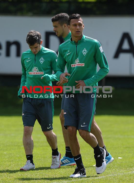 17.05.2015, Trainingsgelaende, Bremen, GER, 1.FBL, Training Werder Bremen, im Bild Davie Selke (Bremen #27)<br /> <br /> Foto &copy; nordphoto / Frisch