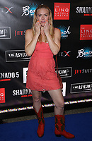 06 August 2017 - Las Vegas, NV - Dominique Swain.  Sharknado 5 Global Swarming red carpet premiere at Linq Hotel and Casino. Photo Credit: MJT/AdMedia