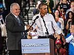 Obama Democratic Rise for Vote