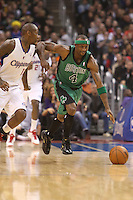 12/27/12 Los Angeles, CA: Boston Celtics shooting guard Jason Terry #4 during an NBA game between the Los Angeles Clippers and the Boston Celtics played at Staples Center. The Clippers defeated the Celtics 106-77 for their 15th straight win.