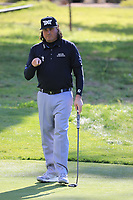 Pat Perez (USA) during the first round of the AT&amp;T Pro-Am, Pebble Beach Golf Links, Monterey, California, USA. 07/02/2019<br /> Picture: Golffile | Phil Inglis<br /> <br /> <br /> All photo usage must carry mandatory copyright credit (&copy; Golffile | Phil Inglis)
