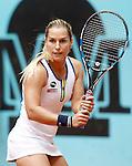 Dominika Cibulkova, Slovakia, during Madrid Open Tennis 2016 match.May, 5, 2016.(ALTERPHOTOS/Acero)