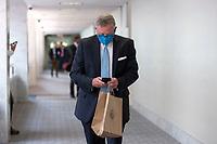 United States Senator Richard Burr (Democrat of Nort Carolina) arrives to GOP policy luncheons on Capitol Hill in Washington D.C., U.S., on Tuesday, June 9, 2020.  Credit: Stefani Reynolds / CNP/AdMedia