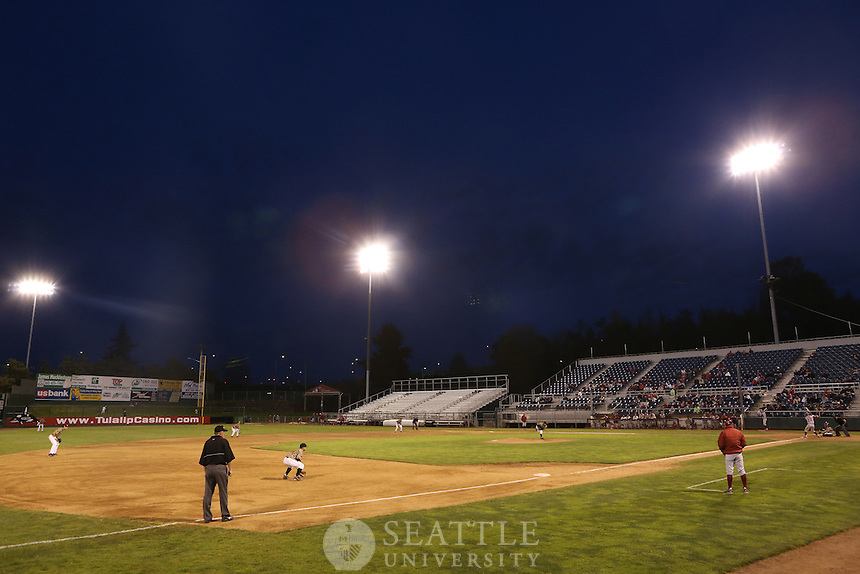 04232012-  Seattle University vs. Washington State University men's baseball at Everett Memorial Stadium