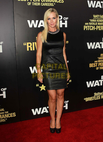 Jennie Garth.'End Of Watch' - Los Angeles premiere at Regal Cinemas L.A. Live, Los Angeles, California USA..17th September 2012.full length black sleeveless dress leather  .CAP/ADM/FS.©Faye Sadou/AdMedia/Capital Pictures.