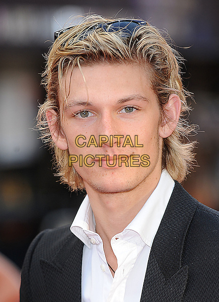"ALEX PETTYFER.at ""The Dark Knight"" UK Film Premiere, Odeon Leicester Square, London, England, 21st July 2008..Batman movie portrait headshot white shirt long hair .CAP/BEL.©Tom Belcher/Capital Pictures"