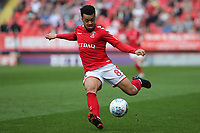Nicky Ajose of Charlton Athletic in action during Charlton Athletic vs Scunthorpe United, Sky Bet EFL League 1 Football at The Valley on 14th April 2018
