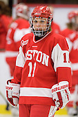 Jonnie Bloemers (BU - 11) - The Northeastern University Huskies defeated the Boston University Terriers in a shootout after being tied at 4 following overtime in their Beanpot semi-final game on Tuesday, February 2, 2010 at the Bright Hockey Center in Cambridge, Massachusetts.