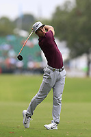 Thorbjorn Olesen (DEN) plays his 2nd shot on the 10th hole during Friday's Round 2 of the 2017 PGA Championship held at Quail Hollow Golf Club, Charlotte, North Carolina, USA. 11th August 2017.<br /> Picture: Eoin Clarke | Golffile<br /> <br /> <br /> All photos usage must carry mandatory copyright credit (&copy; Golffile | Eoin Clarke)