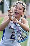 Torrance, CA 05/09/13 - Audrey Schimmel (Agoura #2) in action during the 2013 Los Angeles area Girls Varsity Lacrosse Championship.  Agoura defeated Oak Park 13-7.