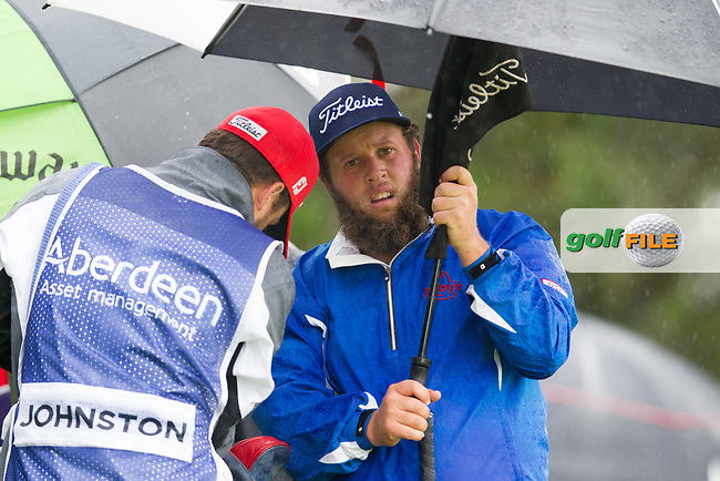 Andrew Johnston (ENG) on the 7th during round 3 of the Aberdeen Asset Management Scottish Open 2017, Dundonald Links, Troon, Ayrshire, Scotland. 15/07/2017.<br /> Picture Fran Caffrey / Golffile.ie<br /> <br /> All photo usage must carry mandatory copyright credit (&copy; Golffile | Fran Caffrey)