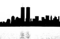 skyscraper of World Trade Center, New York City, USA