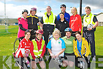 BIKE TIME: Having a great time at Kerry Emergency Services Charity Cycle at the Kerins O'Rahillys clubhouse, Tralee on Saturday front l-r: Back l-r: Anne Kelly, Fiona Carroll, James Cronin, David Young, Helenna Carey, Sharon O'Connor and Shane Ryan. Back l-r: Noeleen O'Connor, Helen O'Sullivan, Mary Walsh, Anne O'Connor and Mairead McCarthy.